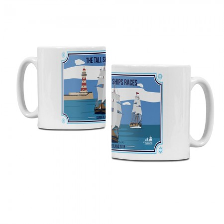 Tall Ships Races Sunderland 2018 Ceramic Mug