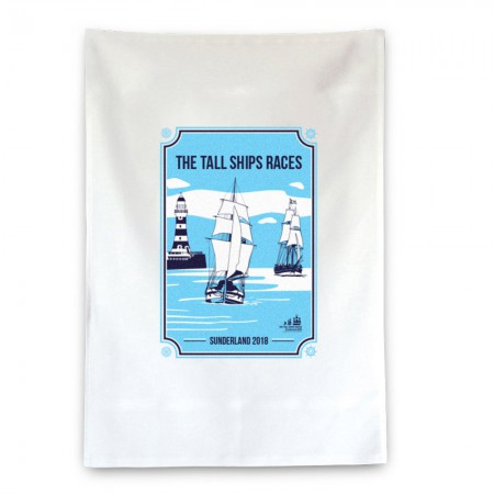 Tall Ships Races Sunderland 2018 Tea Towel